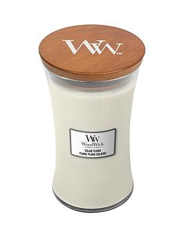 Woodwick Large Hourglass Candle &Ndash; Solar Ylang
