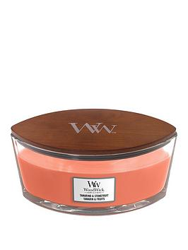 Woodwick Ellipse Candle &Ndash; Tamarind &Amp; Stonefruit
