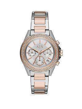 armani-exchange-armani-exchange-lady-drexler-bi-colour-stainless-steel-silver-sunray-dial-bracelet-watch