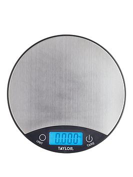 Very Silver Finish Digital Dual Kitchen Scale Picture