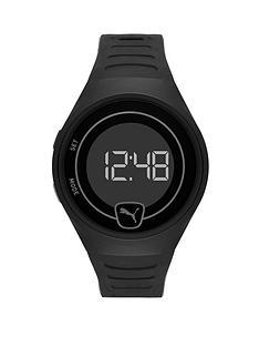 puma-puma-black-digital-dial-black-pu-strap-watch