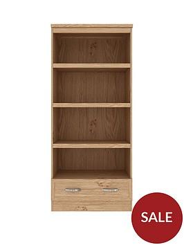 camberley-bookshelf-nbspdisplay-unitnbsp--oak-effect