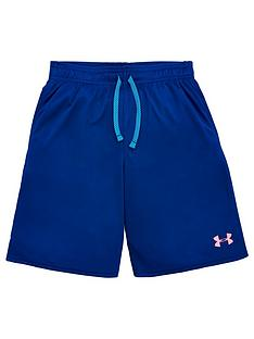 under-armour-childrensnbsptech-colorblock-short-sleeved-t-shirt-and-prototype-short-set-navy-pink