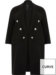 ri-plus-longline-blazer-black