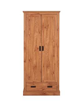clifton-2-door-1-drawer-wardrobe