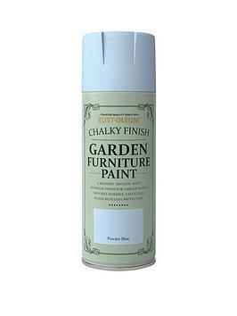 Rust-Oleum Garden Furniture Spray Powder Blue 400Ml