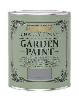 Rust-Oleum Rust-Oleum Anthracite Garden Furniture Paint - 750Ml Picture