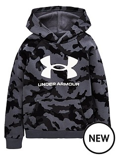 under-armour-rival-fleece-pullovernbsphoodie-blackwhitenbsp