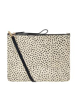 Accessorize    Leather Polka Dot Carmela Cross Body