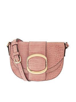 Accessorize Buckle Saddle Bag