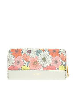 Accessorize Accessorize Printed Zip Around Wallet - Multi Picture