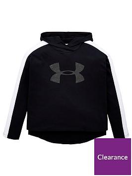 under-armour-favorites-jersey-hoodie-blackwhitenbsp