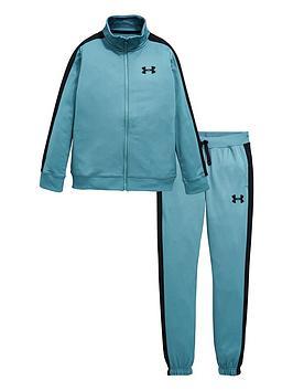 under-armour-knit-tracksuit-blue