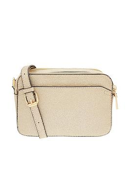 Accessorize Harvey Camera Bag - Metallic