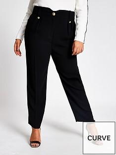 ri-plus-peg-trouser-black