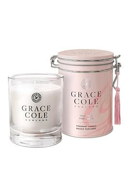 Grace Cole Grace Cole Wild Fig And Pink Cedar 200G Candle Picture