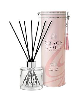 Grace Cole Grace Cole Wild Fig And Pink Cedar 200 Ml Reed Diffuser Picture