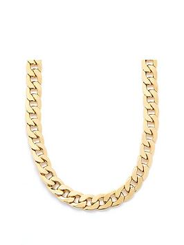 Love GOLD Love Gold 9Ct Yellow Gold 1 And 1/2 Oz Solid Diamond Cut20  ... Picture