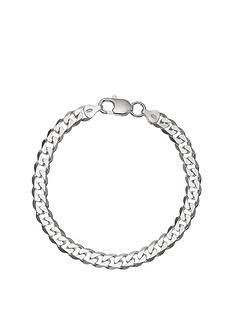 the-love-silver-collection-sterling-silver-12-oz-solid-diamond-cut-curb-mensnbspbracelet