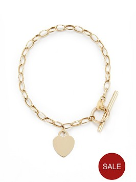 love-gold-9ct-gold-heart-t-bar-bracelet