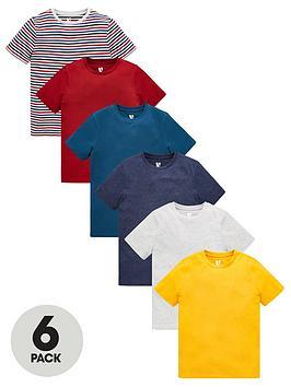 v-by-very-boys-6-pack-short-sleeve-pocket-t-shirts-multi