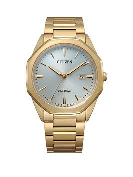 Citizen Citizen Citizen Eco Drive Gold Stainless Steel Bracelet Mop Dial  ... Picture