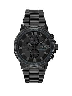 citizen-citizen-eco-drive-nighthawk-black-stainless-steel-ip-black-dial-bracelet-watch
