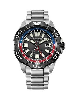 Citizen Citizen Citizen Eco Drive Promaster Stainless Steel Bracelet Watch Picture