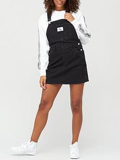 calvin-klein-jeans-overall-dress-black