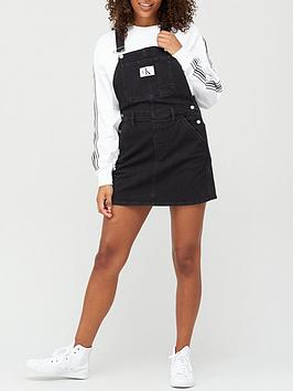 calvin-klein-jeans-overall-dress-black