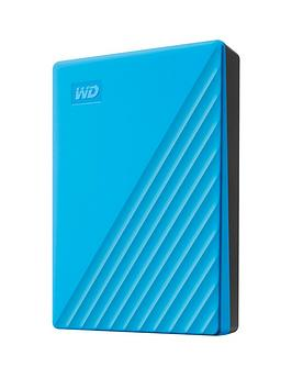 Western Digital Western Digital My Passport 4Tb Blue Picture