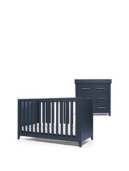 Mamas & Papas Mamas & Papas Melfi Cot Bed And Dresser Changer - Midnight  ... Picture