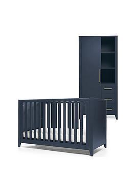 Mamas & Papas Mamas & Papas Melfi Cot Bed And Storage Wardrobe - Midnight  ... Picture