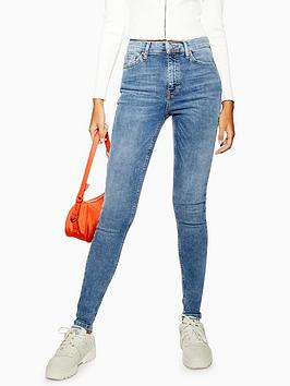 Topshop Topshop Tall Jamie Clean Jeans - Midnight Picture