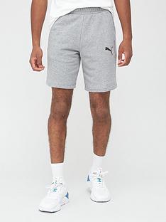 puma-essential-sweat-bermudas-shorts-grey