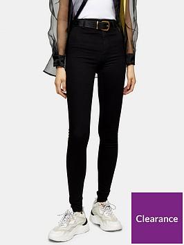 topshop-tall-joni-clean-jeans-black