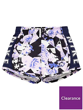 nike-younger-girls-tokyo-floral-tempo-shorts-navy