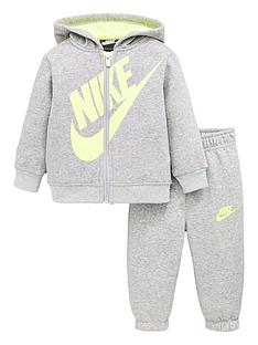 nike-infant-boy-sueded-fleece-futura-jogger-setnbsp--grey