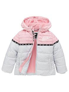 nike-younger-girl-taping-color-block-padded-jacket--nbspgreypink