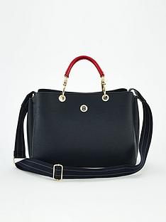 tommy-hilfiger-th-core-satchel-navy
