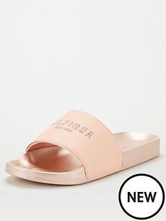 tommy-hilfiger-th-glitter-pool-slide-pink