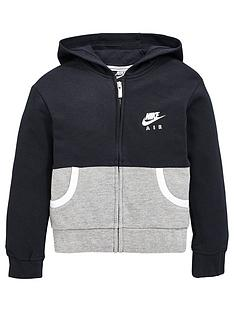 nike-nsw-younger-girls-air-force-full-zip-hoodienbsp--black