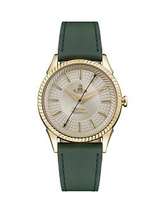 vivienne-westwood-vivienne-westwood-seymour-green-leather-strap-champagne-dial-watch