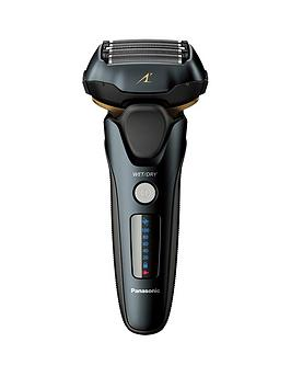 Panasonic    Es-Lv97 Wet & Dry Electric 5-Blade Shaver With Automatic Cleaning & Charging Stand