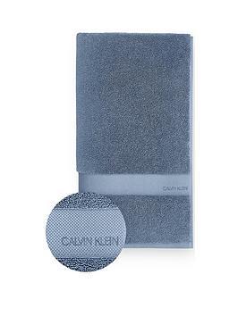 Calvin Klein Calvin Klein Tracy 100% Cotton Towel Range - Blue Picture