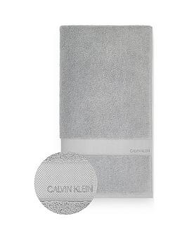 Calvin Klein Calvin Klein Tracy 100% Cotton Towel Range - Grey Picture
