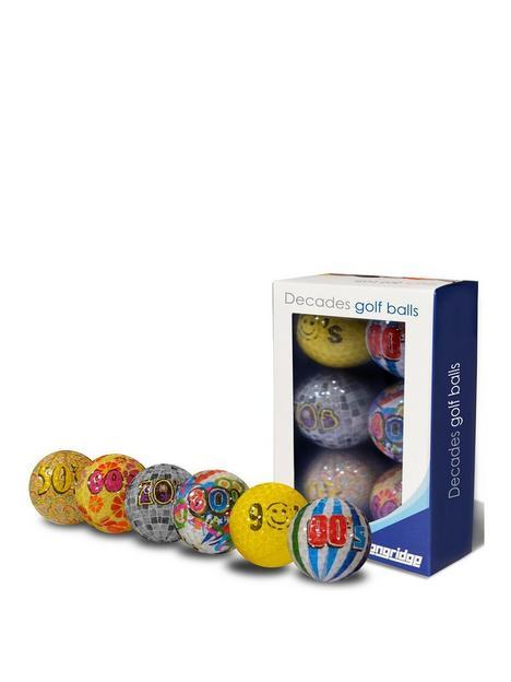 longridge-decades-golf-balls-6pk
