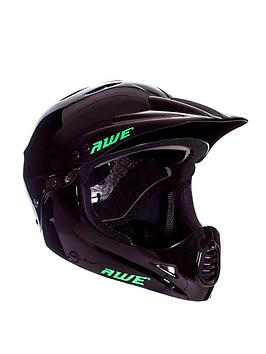 Awe   Full Face Helmet Black Large 58-60Cm