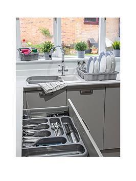 Wham Wham Casa 4-Piece Kitchen Tidy Set In Silver Picture