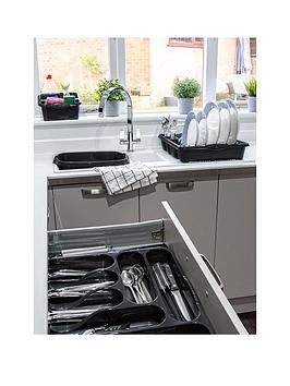 Wham Wham Casa 4-Piece Kitchen Tidy Set In Black Picture